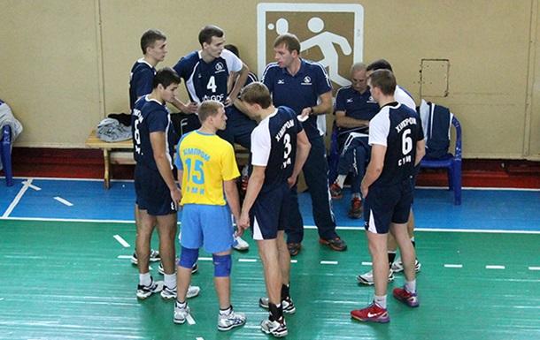 «Буревестник» выбыл из борьбы за Кубок Украины по волейболу