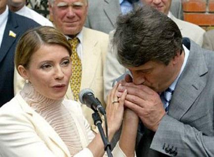 Ющенко и Тимошенко: вместе ради ЕС?