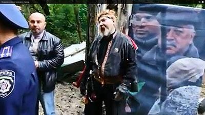 Визволення кінно-трюкового театру(відео)