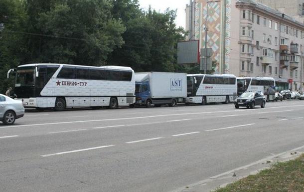 Чому Київ стоїть у заторах або автобусний безпрєдєл.