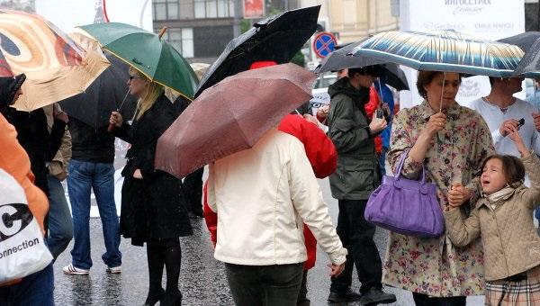 В Украине ожидаются дожди и похолодание