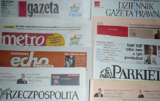 Польська преса про роковини Волинських подій