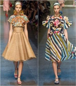 Весна и лето 2013 от Dolce & Gabbana