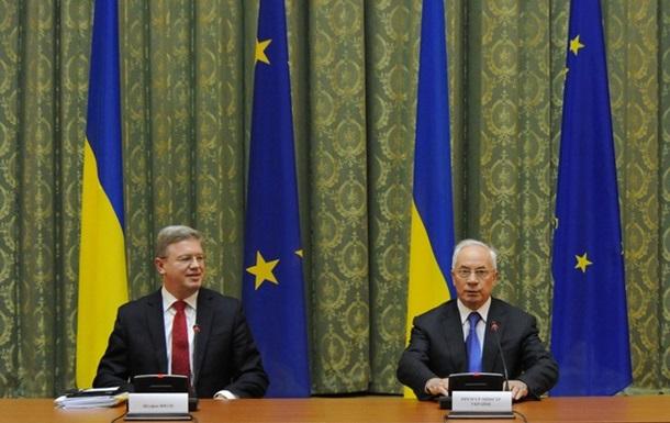 Азарову хватит ползать перед ЕС