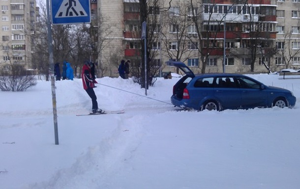 Киев в снегу март 2013 ( 22-24.03.13)