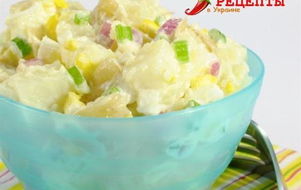 Сырно — картофельный салат