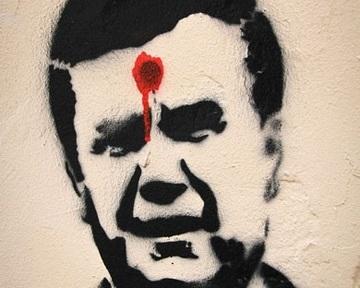 Зек-Янукович реагує на червоне як бик!