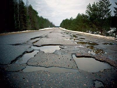 Весь рельеф Финляндии на пяти метрах киевской дороги