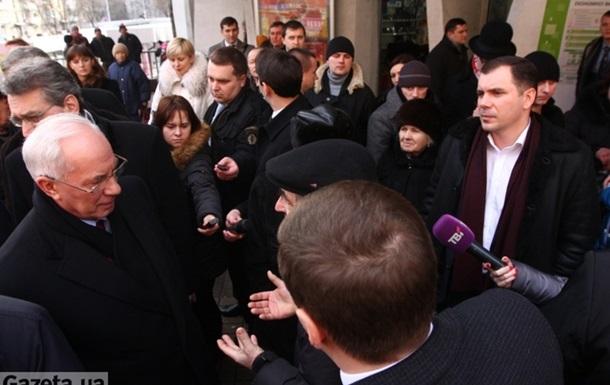 Про зустріч з Азаровим в Києві на Печерській площі, СЕКСШОП і ПАДІННЯ ЦІН!