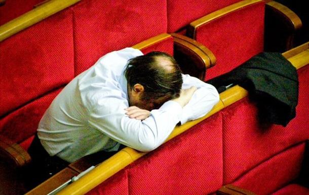 Депутати відпрацювали в залі засідань лише 56 днів за весь рік