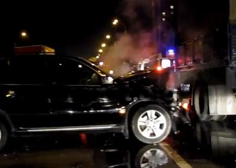 В лобовом столкновении «прокурорской» BMW X5 и Chevrolet Aveo погиб водитель