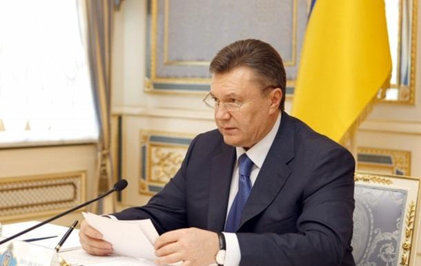 Янукович: Законопроект 8711...необходимо учесть точку зрения общества и верующих