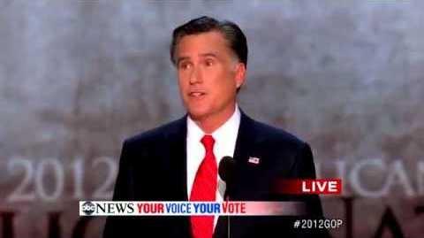 Український переклад промови Мітта Ромні на з їзді Республіканської партії