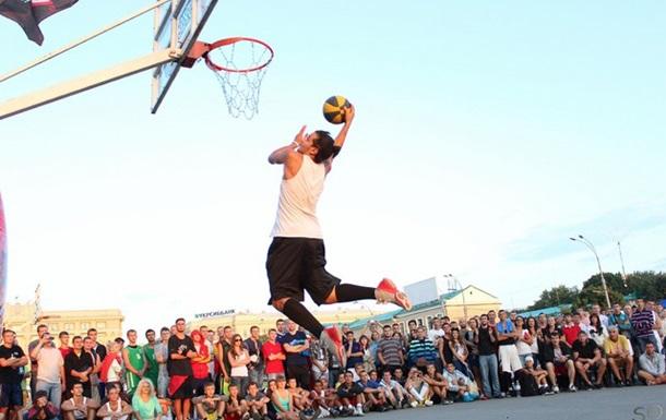 Праздник баскетбола 3х3 в Киеве