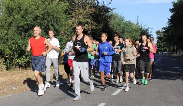 Street Workout Бортничі, спільна недільна пробіжка