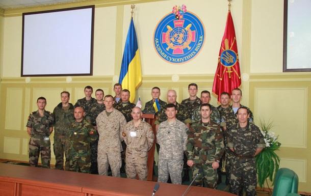 У рамках навчань «Репід Трайдент-2012» експерти НАТО оцінюють українських військових