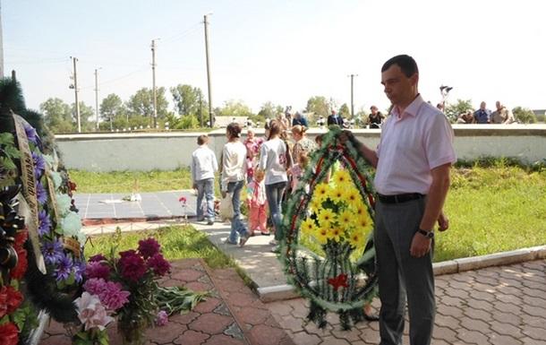 Мітинг-реквієм за загиблими євреями відбувся в Іванові