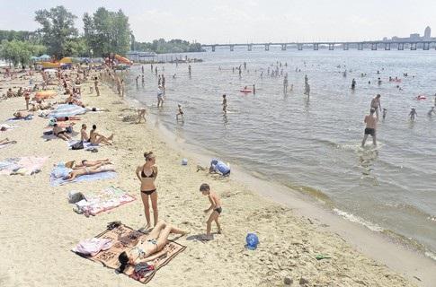 45% пляжів України готові до купального сезону