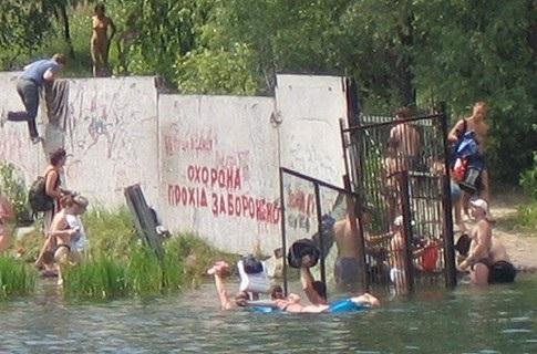 Скоро літо, а купатись ніде