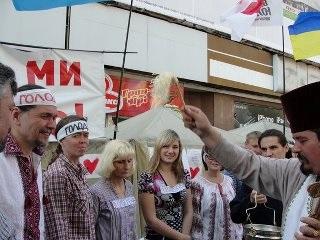 Голодуючі проти диктатури і в підтримку Юлії Тимошенко отримали Благослословіння