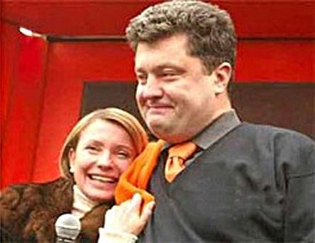 Порошенко VS Тимошенко