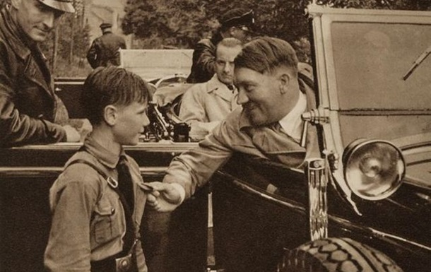 Гитлер, какого вы ещё не видели