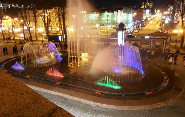 Киевский фонтан в 4 миллиона  гривен