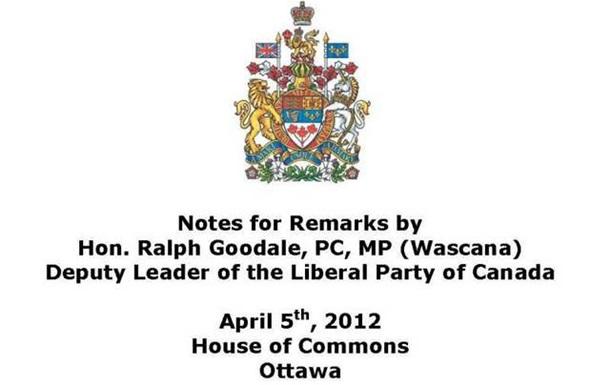 Як канадський парламент привітав українців