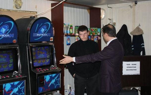 Я розгромив зал гральних автоматів у Кривому Розі (ФОТО, ВІДЕО)