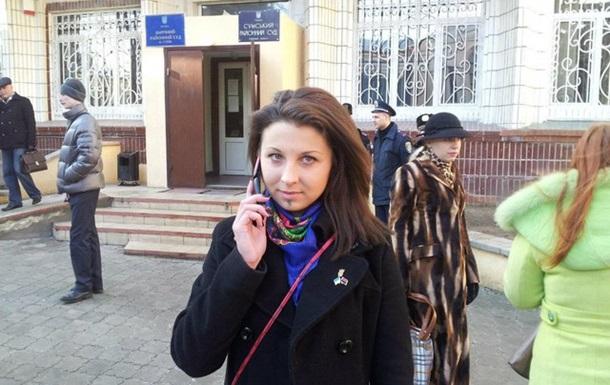 Вчора в Сумах було судилище над патріотом України Юлією Левченко