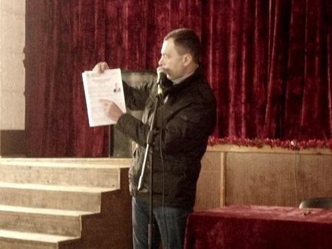 Ігор Зубко: «Ми збиратимемо підписи аби зберегти мережу медичних закладів району
