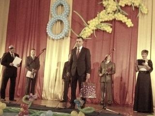 В Козятині  жінки  отримали подарунки  від Зубко Ігора Миколайовича .