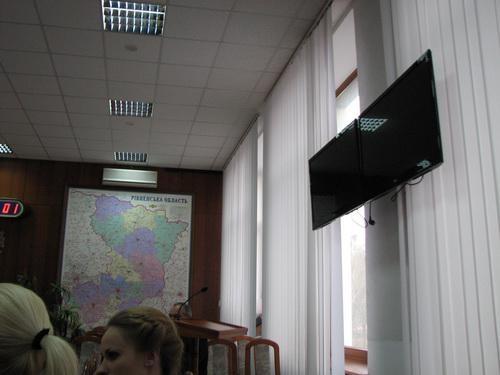 Засекречені телевізори губернатора Рівненщини