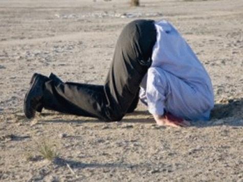 Янукович у позі страуса