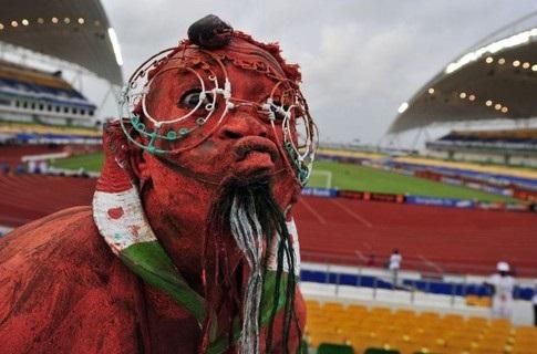 Страшный болельщик не помог Нигеру в Кубке Африки
