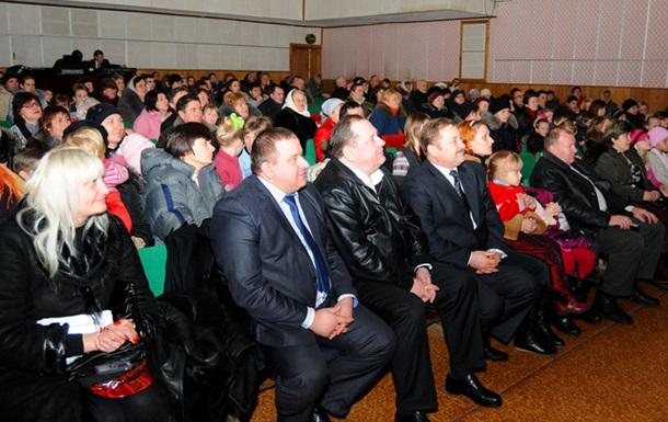 Петро Мельник привітав дмитрівчан з Днем Соборності та Свободи