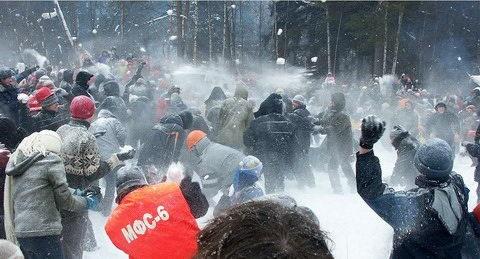 В Киеве зима! Все на улицу!!!