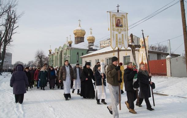 В Черкасах 1000 людей занурились в Дніпро