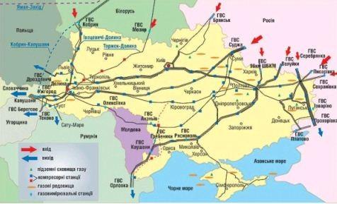 ПР на чолі з Президентом Януковичем краде ГТС в України не викопуючи її із землі