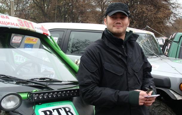 Сын Президента будет способствовать развитию автоспорта в Украине