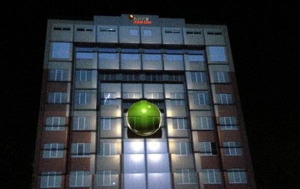 В Киеве состоялось уникальное 3D-маппинг-шоу