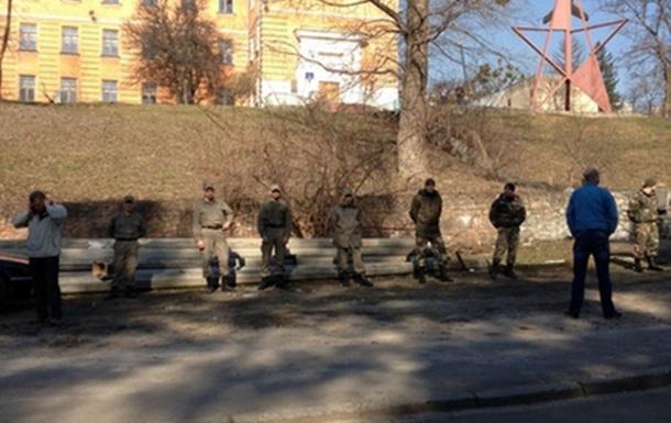 Захват земли на ул. Тимирязевской в Киеве