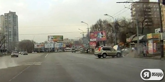 Авария в Днепропетровске: трагическое ДТП на Победе