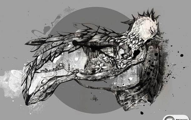 Ілюстрація до твору Віграновського  Далекими світами