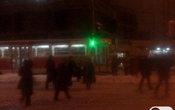 Аварія троєщинського швидкісного трамвая
