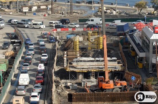 Реконструкция Почтовой площади. Фоторепортаж 19 октября