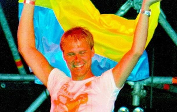 Армин Ван Бюрен зажигал в Одессе с флагом Украины и под проливным дождем