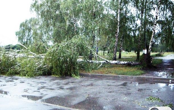 Ураган в Кировограде