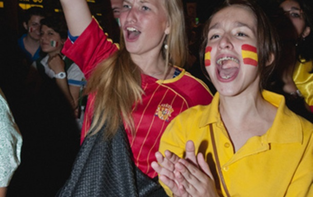 Евро-2012: Финальный матч в фан-зоне