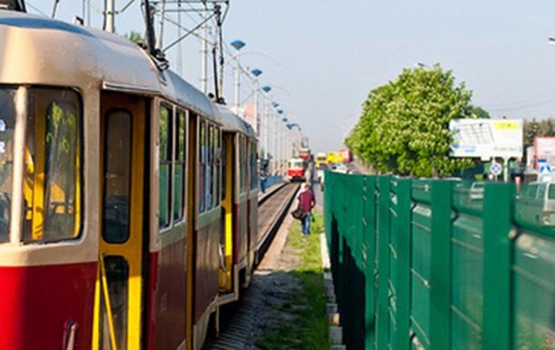 ЧП на линии киевского скоростного трамвая